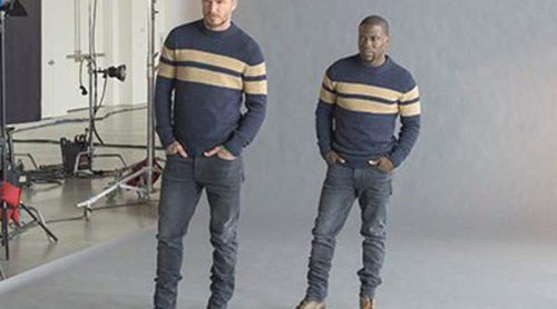 David Beckham prepara la campaña de su segunda colección de esenciales para H&M con Kevin Hart
