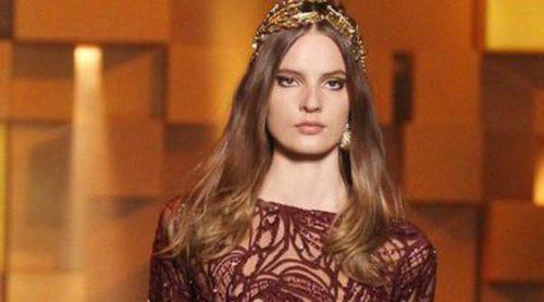 Las princesas de la Alta Costura de Elie Saab pisan fuerte en la Semana de la Moda de París
