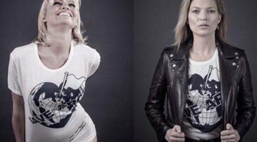 Kate Moss, Luke Evans, Naomi Campbel, Kylie Minogue y Rita Ora se ponen la camiseta solidaria de Vivienne Westwood