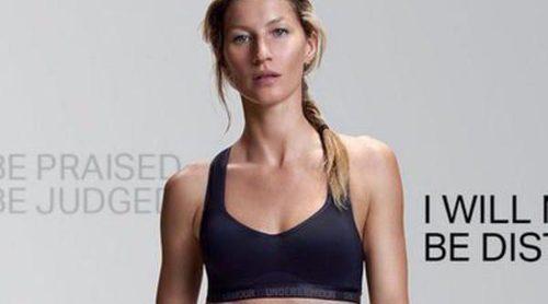 Gisele Bundchen revive sus duros inicios como modelo en la campaña de Under Armour