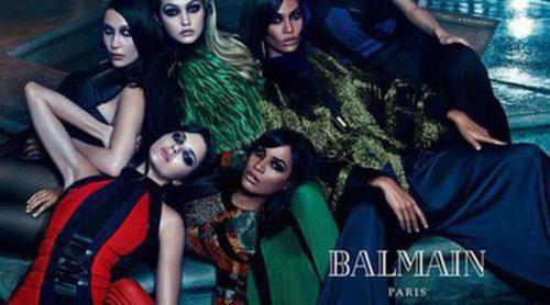 Balmain reúne a las hermanas Jenner, Smalls y Hadid en su campaña otoño/invierno 2015/2016