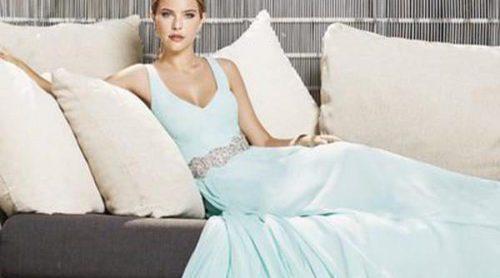 Claudia Albons presenta la romántica colección de vestidos de ceremonia de Cristina Tamborero