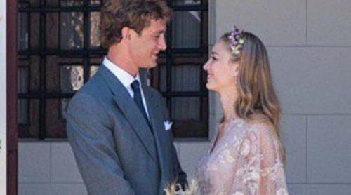 Así era el vestido de novia de Beatrice Borromeo firmado por Valentino