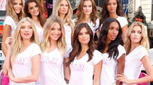 Los 10 nuevos ángeles de Victoria's Secret presentan la campaña 'Body' en Nueva York