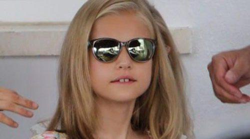 Pequeñas 'it girls': La Princesa Leonor y la Infanta Sofía se apuntan a las gafas de sol polarizadas