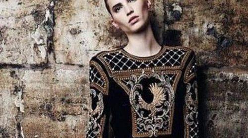Balmain x H&M levanta sus cartas: así es el primer look de su colaboración