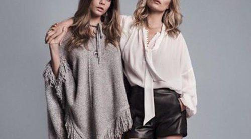 Kate Moss y Cara Delevingne, tándem de lujo para el otoño/invierno 2015/2016 de Mango