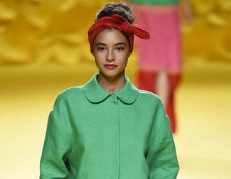 Ágatha Ruiz de la Prada presenta una colección atrevida y colorida en la Madrid Fashion Week primavera/verano 2016