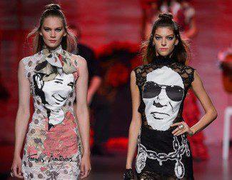 Francis Montesinos propone looks rockeros para la primavera/verano 2016 en Madrid Fashion Week