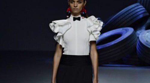El folclore andaluz y la modernidad se fusionan para la colección primavera/verano 2016 de David Delfín en Madrid Fashion Week