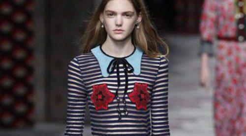 Gucci rinde homenaje al estilo boho en un desfile en Milan Fashion Week lleno de imaginación