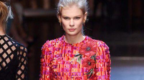 Especial oda a Italia en el desfile primavera/verano 2016 de Dolce&Gabbana en Milan Fashion Week