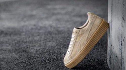 Rihanna lanza una nueva colección de zapatillas de inspiración punk para la marca Puma