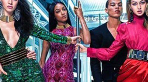 Balmain para H&M: Salen a la luz las imágenes de la colección más esperada
