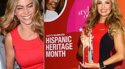 Duelo de latinas: Sofía Vergara y Thalia con dos versiones de un mismo vestido