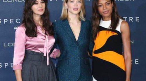 Monica Bellucci, Naomie Harris y Lea Seydoux: El trío de chicas Bond recorre el mundo