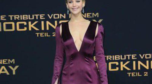 Jennifer Lawrence confía en Dior para su tour mundial de 'Los Juegos del Hambre: Sinsajo-Parte 2'