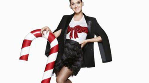 Katy Perry: La felicidad personificada en la colección de Navidad de H&M