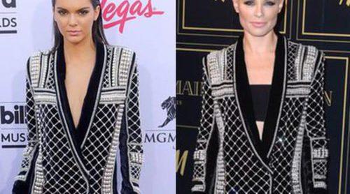 Kendall Jenner y Soraya: un mismo modelo de Balmain para H&M en dos estilos muy distintos