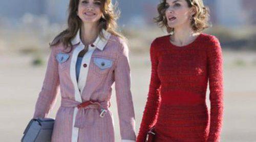 Rania de Jordania Vs Letizia: la Reina Jornada gana en estilo a la Reina de España