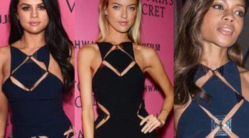 Triple coincidencia: Selena Gomez, Naomie Harris y Martha Hunt comparten estilo