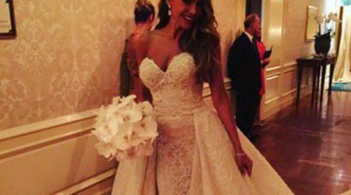 Un vestido de novia acorde con su personalidad: Sofía Vergara luce un Zuhair Murad muy sexy