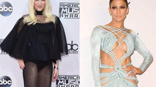 Jennifer Lopez y Gwen Stefani: Las peor vestidas de los American Music Awards 2015