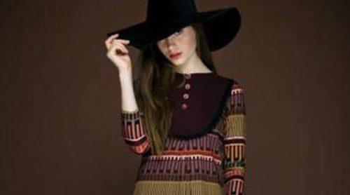 La geometría llega a nuestros outfits invernales con Dolores Promesas