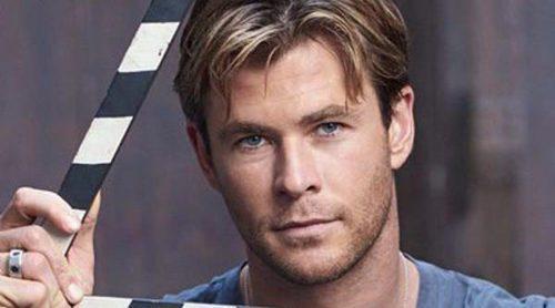Chris Hemsworth luce músculos como nuevo embajador de los relojes TAG Heuer