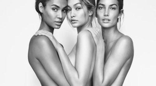 Stuart Weitzman desnuda a Gigi Hadid, Joan Smalls y Lily Aldridge para la primavera 2016