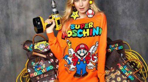Jeremy Scott presenta para Moschino una colección cápsula inspirada en Super Mario Bros