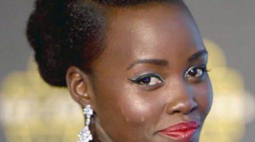 Lupita Nyong'o: desfiles de glamour para estrenar 'Star Wars: El despertar de la fuerza' por el mundo