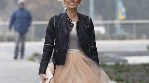 El vestido de novia de Adriana Abenia: la princesa 'rock and roll'