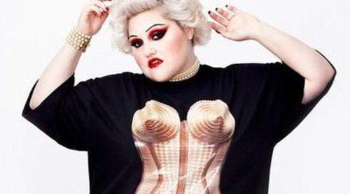 Beth Ditto se une a Jean Paul Gaultier para diseñar una línea femenina de tallas grandes