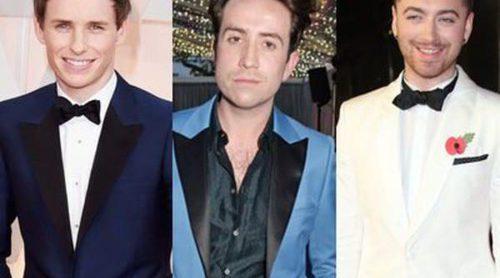Eddie Redmayne, Nick Grimshaw y Sam Smith, los británicos más elegantes de 2015