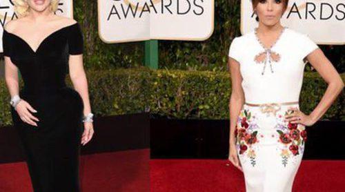 Amber Head, Jennifer Lawrence, Kate Winslet y Rosie Huntington, las mejor vestidas de los Globos de Oro 2016