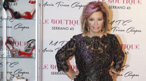 María Teresa Campos se lanza al diseño de su propia marca de zapatos MTC