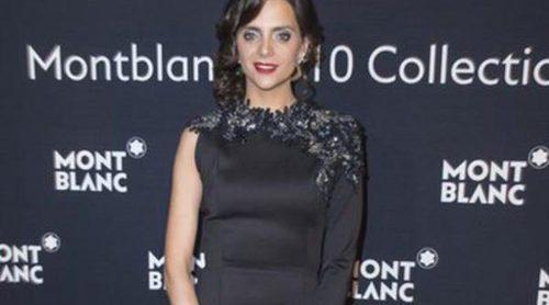 Macarena Gómez es la nueva imagen para la marca de relojes y plumas de lujo Montblanc