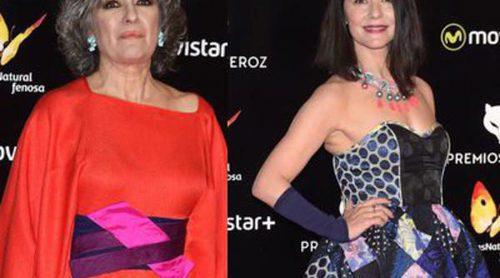 Ana Fernández, Luisa Gavasa y Bárbara Santa Cruz, entre las peor vestidas de los Premios Feroz 2016