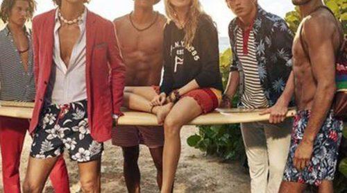 Tommy Hilfiger se reinventa a sí mismo bajo el sol caribeño con Behati Prinsloo