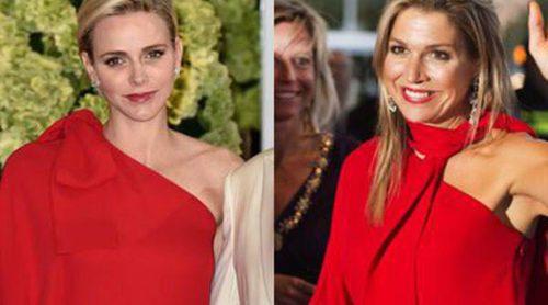 Máxima de Holanda y Charlène de Mónaco: el juego de tronos del look por un Valentino