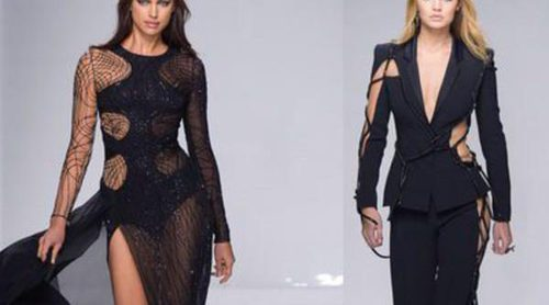 Versace presenta su temporada primavera/verano con volúmenes asimétricos y aberturas en sus vestidos