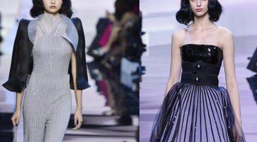 Armani se alza como uno de los favoritos de la semana de la Alta Costura parisina en su colección primavera/verano 216