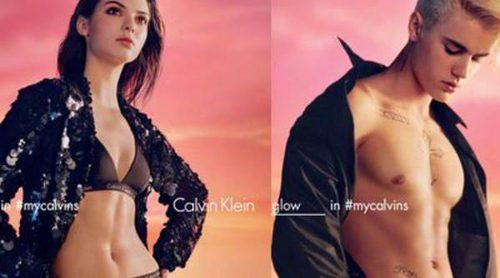 Justin Bieber, Kendall Jenner y Abbey Lee se unen para la primavera/verano 2016 Calvin Klein