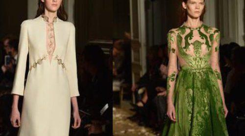La Alta Costura primavera/verano 2016 se viste de época medieval con los diseños de Valentino