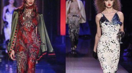 Jean Paul Gaultier rinde homenaje a la artista Edwige Belmore en la Alta Costura de París para primavera/verano 2016