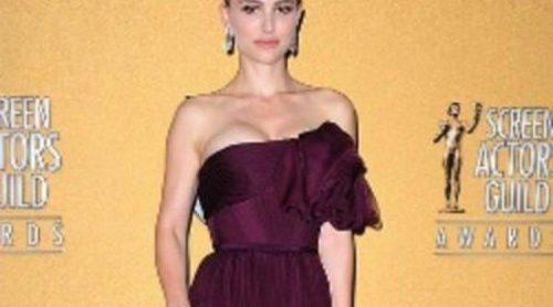 De la pasarela a la alfombra roja: Natalie Portman y Zoe Saldana visten de Alta Costura en los SAG 2012