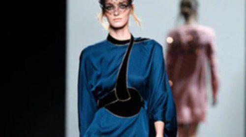 Sensualidad en estado puro con Miguel Palacio sobre la pasarela de la Madrid Fashion Week