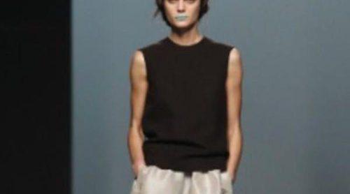 Lemoniez lleva el minimalismo a la máxima potencia en la Fashion Week Madrid