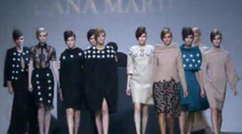 Los diseños 'lady' de Juana Martín inundan Fashion Week Madrid a ritmo de Carlos Jean